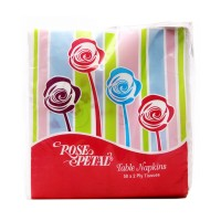 Rose Petal Table Napkins (Pack of 50)