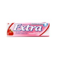 Extra Strawberry Chewing Gum (pack of 10)