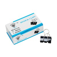 Diamond Binder Clip 1 Width 25mm (Pack of 12)