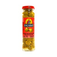 Figaro Green Pitted Olives - 142gm