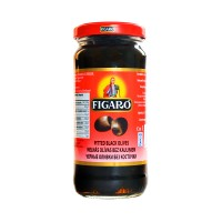 Figaro Black Pitted Olives - 240gm
