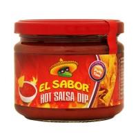 El Sabor Hot Salsa Dip - 300gm