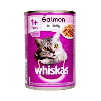 Whiskas Cat Food Salmon In Jelly 390g