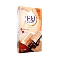 EU Wax Strips Chocolate 10s