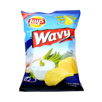Lay's Wavy Sour Cream & Onion 31g