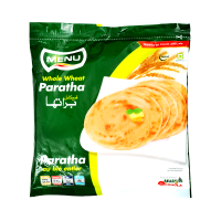 Menu Paratha Whole Wheat (Pack of 5) - 400gm