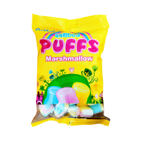Candyland Marshmallow Rainbow Puff 3g (Pack Of 50)