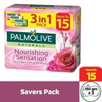 Palmolive Nourishing Sensation Soap (Pack of 3) - 135gm