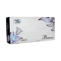 Cool and Cool Breeze Tissue (Pack of 100)