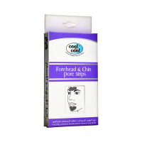 Cool and Cool Deep Cleansing Forehead and Chin Pore Strips (Pack of 6)