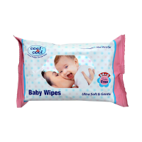 Cool & Cool Baby Wipes (Pack Of 64+8)