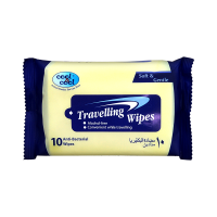 Cool and Cool Travelling Wipes (Pack of 10)