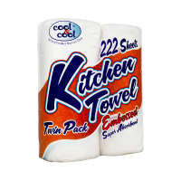 Cool and Cool Kitchen Tissue Rolls (Pack of 2)