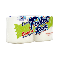 Cool and Cool Toilet Roll (Pack of 2)