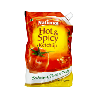 National Hot and Spicy Ketchup Pouch - 1kg