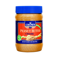 Crown Peanut Butter Chunky - 510gm