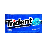 Trident Peppermint Sugar free Gum 8g (Pack Of 5)