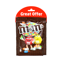 M&M's Chocolate Beans Chocolate Pouch 2x180g (Pack of 2)