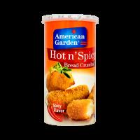 American Garden Hot and Spicy Bread Crumbs - 425gm