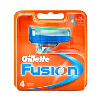 Gillette Cartridges Fusion Blades Razor (Pack of 4)