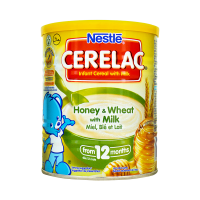 Nestle Cerelac Honey and Wheat With Milk Tin (6 Months) - 400gm