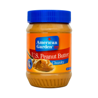 American Garden U.S. Peanut Butter Chunky - 510gm
