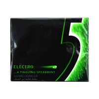 5 Electro A Tingling Spearmint Sugar Free Chewing Gum 31.2 (Pack Of 12)