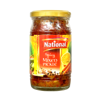 National Spicy Mixed Pickle - 310gm