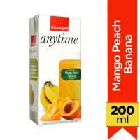 Anytime Mango Peach Banana Juice - 200ml