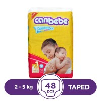 Canbebe Taped 2 To 5kg - 48Pcs