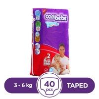 Canbebe - 3 ~ 6 Kg - 40 Pieces - Taped