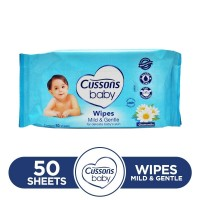 Cussons Mild and Gentle Baby Wipes 50sheets