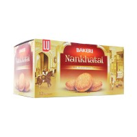 LU Bakeri Nan Khatai Bar Pack (Pack Of 12)