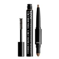 3-in-1 Brow Pencil - 02 Taupe