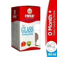 Farlin Glass Feeding Bottles (0Month+) - 60ml