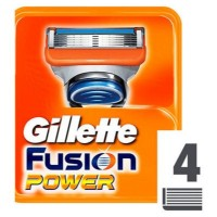 Gillette Fusion Power Razor Blades (Pack of 4)