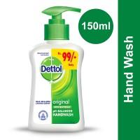 Dettol Hand Wash Original 150ml (Pump)
