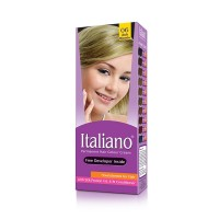 Italiano Permanent Hair Colour Cream (06 Ash Blonde) - 100ml