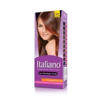 Italiano Permanent Hair Colour Cream (08 Burgundy) - 100ml