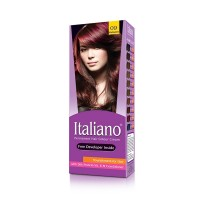 Italiano Permanent Hair Colour Cream (09 Mahogany) - 100ml