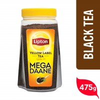 Lipton Yellow Label Tea Mega Daane Jar - 475gm