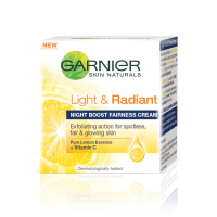 Garnier Light and Radiant Night Boost Fairness Cream - 40ml