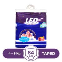 Leo Taped 4 To 9kg - 84Pcs