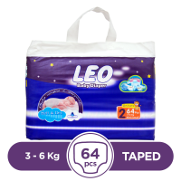 Leo Taped 3 To 6kg - 64Pcs