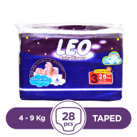 Leo - 4 ~ 9 Kg - 28 Pieces - Taped
