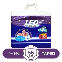 Leo - 4 ~ 9 Kg - 56 Pieces - Taped