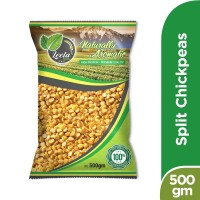 Leela Split Chickpeas (Chana Daal) - 500gm