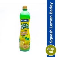 Mitchell's Lemon Barley Squash - 800ml