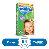 Molfix Taped 15kg - 54Pcs