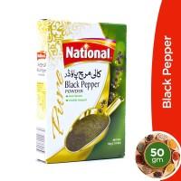 National Black Pepper Powder - 50gm